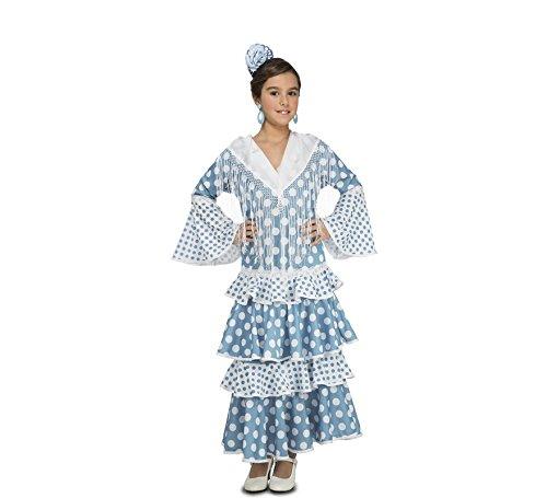My Other Me – Disfraz de flamenca Guadalquivir, color turquesa (Viving Costumes)