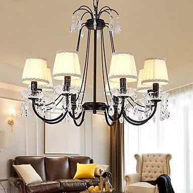 Moderne Kronleuchter Deckenleuchten Anhänger Land Traditionelle Kronleuchter Pendelleuchte Ambient Light - Crystal 220-240V Glühlampe Nicht Inbegriffen 3C Ce Fcc Rohs für Schlafzimmer im Wohnzimmer , -