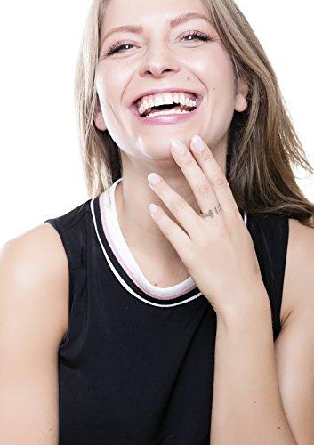 Happiness Boutique Damen Offener Wrap Ring in Silber | Titan Ring Minimalist Schmuck