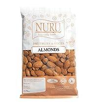 Nuru American Almonds Premium Quality Badam (200 g)