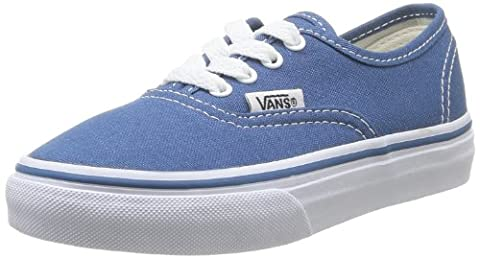 Vans Authentic, Basket mode mixte enfant - Bleu (Navy) - 32 EU, 1.5 US