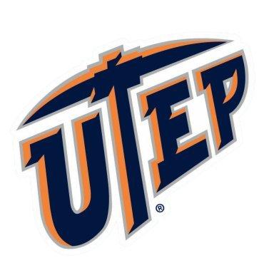 Texas EL Paso UTEP Miners NCAA 4x 4Die Cut Aufkleber