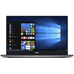 Dell XPS 15 9560 39,6 cm (15,6 Zoll FHD) Laptop(Intel Core i7-7700HQ, 512GB SSD, NVIDIA GeForce GTX 1050 with 4GB GDDR5, Win 10 Home 64bit German) silber Dell XPS