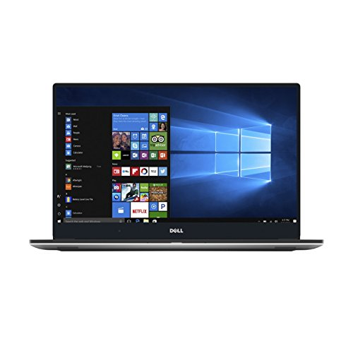 Dell XPS 15 9560 39,6 cm (15,6 Zoll UHD) Laptop(Intel Core i7-7700HQ, 512GB SSD, NVIDIA GeForce GTX 1050 with 4GB GDDR5, Touchscreen, Win 10 Home 64bit German) silber