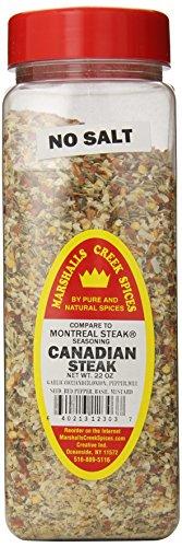 Marshalls Creek Spices Seasoning, Canadian Steak, XL Size, 22 Ounce