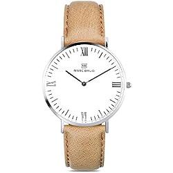Marc Brüg Ladie's Minimalist Watch Chamonix 36 Hygge