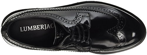 Lumberjack Damen Regent Brogue-Schuhe Nero (Cb001 Black)