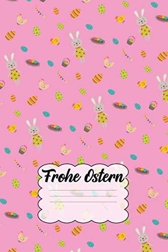 es Oster-Muster - liniert, 110 Seiten, 6 x 9 inch ()