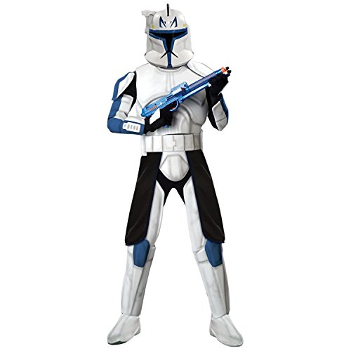 Kostüm-Set Clone Trooper Captain Rex Deluxe, Größe (Wars Kostüme Rex Star Captain)