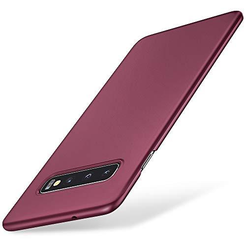 EIISSION Case Kompatibel mit Samsung Galaxy S10 Hülle, Hardcase Ultra Dünn Samsung Galaxy S10 Schutzhülle aus Hart-PC Case Cover Handyhülle für Samsung Galaxy S10- Lila Lila Hard Case Cover
