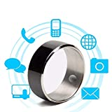 WTTHCC Ring Multifunktions-NFC-Handy Android Apple Universal Smart Ring Biotherapie Ring In Voller Größe Optional,12