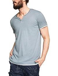 edc by Esprit 056cc2k005-Neonstreifen, T-Shirt Homme