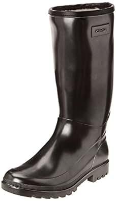 Calvin Klein Abrianna, Bottes de pluie femme - Argent (Svw), 36 EU