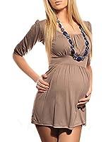 Purpless Maternity Damen U-Ausschnitt Umstands Top Tunika 5006