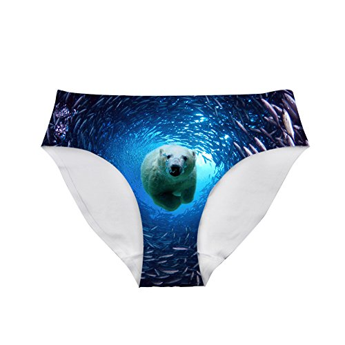 6ca791689 Nopersonality Trendy Fashion Bear Seamless Panty Comfortable Daily Underwear  Briefs