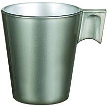 Luminarc 8010149 llamativo juego de tazas de café de 6/gris claro 7,5 x 6,5 cm