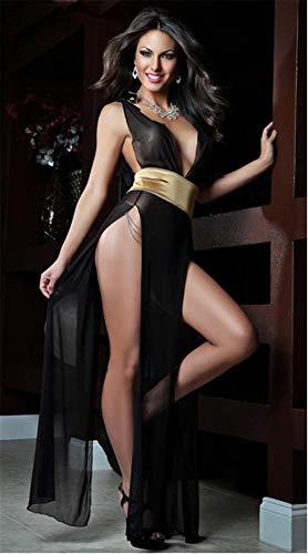 Dance Mädchen Sailor Kostüm - Erotische Dessous Cosplay Sexy Dessous Hot Pole Dance Kleid Sexy Träger Gürtel Design Sexy Nachthemd Erotische Dessous Sexy Kostüme @ Yellow Belt One Size