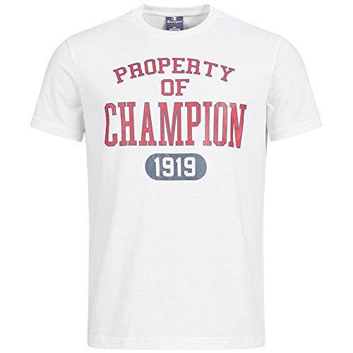 Champion Classic Tee–Maglietta da uomo, Grigio 211394-4