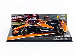 Minichamps-Coche en Miniatura de colección, 557174302, Naranja/Negro