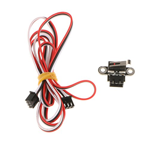 Sharplace Reset Switch Limit Kabel 1m Vertikale Art mit Kabel-Anschluss-Tools für 3D-Drucker (Reset Limit Switch)