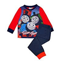 Thomas The Tank Engine Pyjamas Long Sleeve Boys Nightwear PJ Set