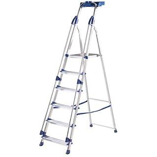 Blue Seal 6-Tread Aluminium Folding Platform Steps