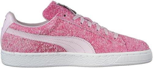 Puma Womens Suede Elemental Wns Fashion Sneaker Lilac Snow-puma White