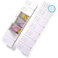 meisijia 7 Tage Pillendosenhalter Wöchentliche Medizin-Speicher-Organisator-Behälter-Fall preisvergleich bei billige-tabletten.eu