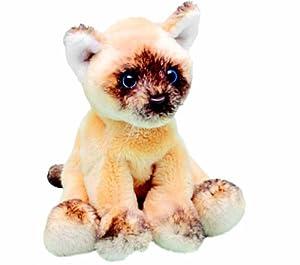 Yomiko 12009 - Gato Ragdoll de Peluche Sentado (12,7 cm)