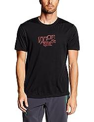Ortovox–Camiseta para hombre (Merino 185Bubble, primavera/verano, hombre, color Negro - Black Raven, tamaño L