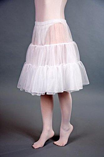 Petticoat weiß 55 cm