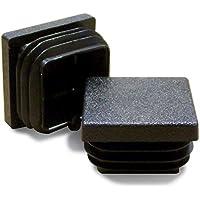 Tapones de extremo acanalado para patas de muebles de mesa 16 unidades Lifeswonderful/® silla