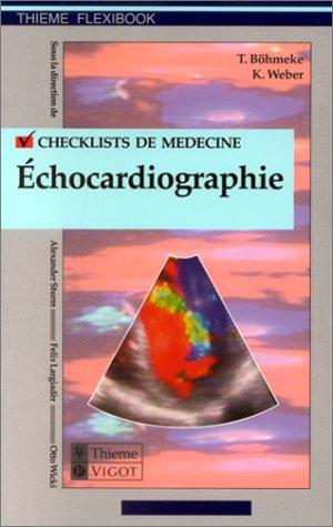 Check-lists en échocardiographie