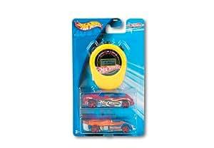Mattel Hot Wheels G2960-0 - Essentials Track Aces Multipack, Set mit 2 Fahrzeugen und Stoppuhr