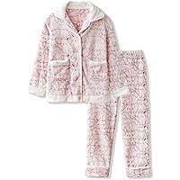 DUKUNKUN Pijamas Sencillos Y Frescos Dibujos Animados Pijamas Dulces Y Encantadores Cálidos Mujeres Otoño E Invierno,S
