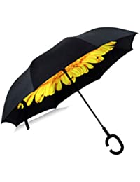 ShopyBucket New Cute C Handle Double Layer Umbrella Women New Style Paraguas For Parasol Umbrella And Decorative...