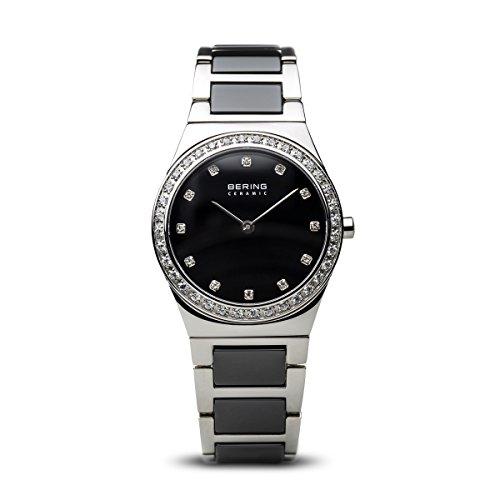 BERING Damen-Armbanduhr Analog Quarz Edelstahl 32430-742