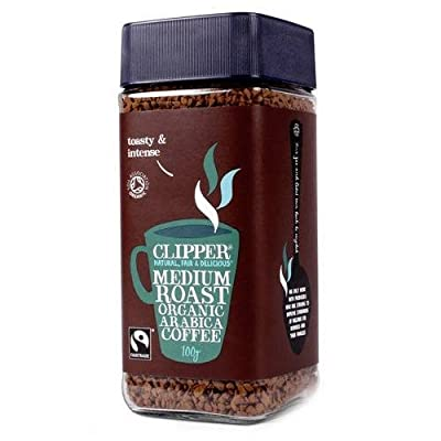 Clipper Organic Medium Roast Instant Coffee 100g - CLIP-8275 from Clipper