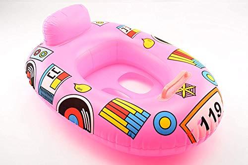 OKCS Gummiboot für Kinder Schlauchboot Pool Schwimmen Strandboot Junior Schwimmbad Badespaß - in Pink