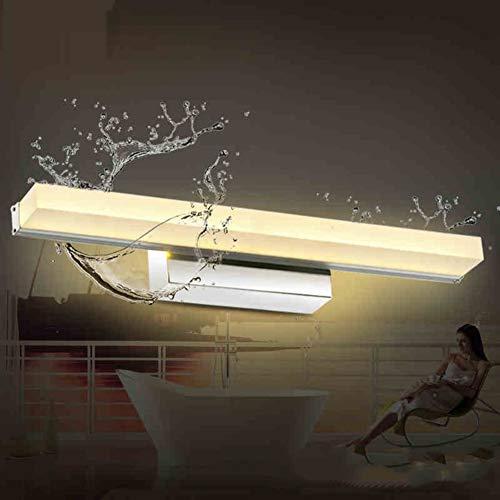 egelleuchte,schminklicht Eitelkeit Lichter Für Spiegel Badleuchte Wandleuchte Beleuchtung Fixture Strip Für Schminktisch-kaltes Weiß 100cm(39inch) ()