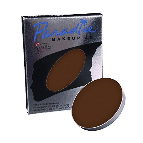 Mehron Paradise Gesichts-Farben-Refills - Dunkelbraun (0,25 Unzen) -