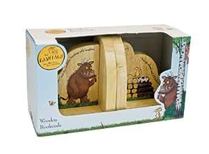 Gruffalo Wooden Bookends