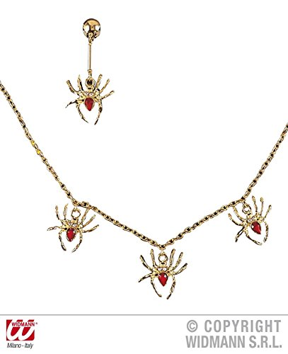 2 - teiliges SET SCHMUCK - SPIDER LADY -