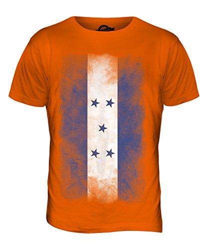 CandyMix Honduras Verblichen Flagge Herren T Shirt Orange