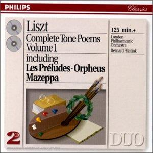 LISZT - Complete Tone Poems - Volume I