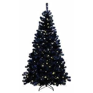 Best Season 608-14 LED Ottawa Prelit-Tree beleuchtet, schwarz