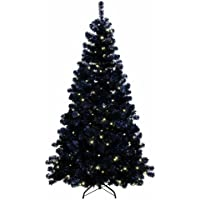 Best season 608-14 - 608-14 árbol de navidad iluminado led ottawa negro