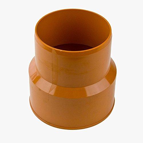 KG Rohr Übergang (KGUG) Guss an PVC DN 160 inkl. Dichtset