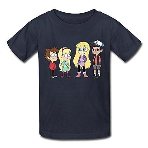Costume Prince Childrens Fantaisie - KST - T-Shirt - Garçon - Bleu