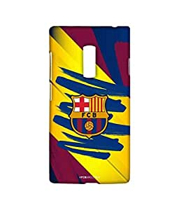 FCB COLOUR STROKES Phone Cover for Oneplus Two by Block Print Company